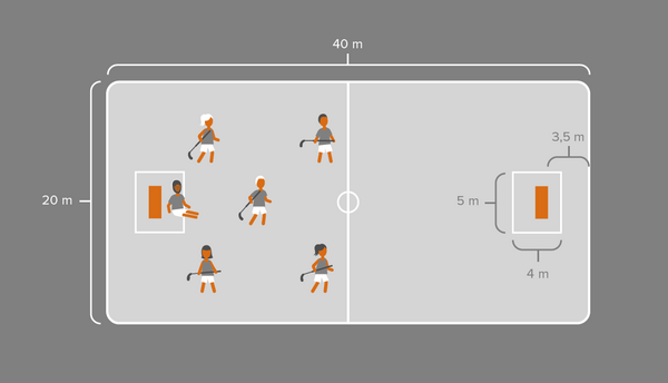 Floorball i idræt - undervisning